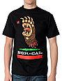 Nor Cal Screaming Black T-Shirt