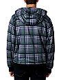 ON SALE - Empyre Burden Charcoal & Green Sherpa Tech Fleece Jacket