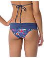 ONeill Flower Fold Over Cheeky Bikini Bottom