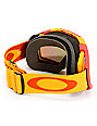 Oakley Airbrake Golden Poppy & Fire Iridium Snow Goggle