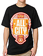 Obey All City Black T-Shirt