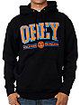 Obey Athletics Black Pullover Hoodie