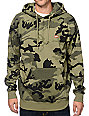 Obey Bar Logo Camo Pullover Hoodie