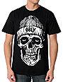 Obey Beanie Skull Black Glow In The Dark T-Shirt