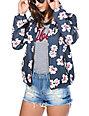 Obey Benchwarmer Floral Jacket