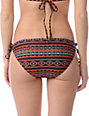 Obey Black Tribal Side Tie Bikini Bottom