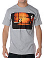 Obey Bombs Away 2 Heather Grey T-Shirt