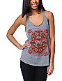 Obey Buckle Up Heather Grey Tank Top