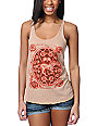 Obey Buckle Up Heather Khaki Tank Top