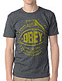 Obey Cant Jump Charcoal T-Shirt