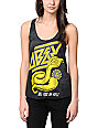 Obey Cobra Attack Black Tie Dye Tank Top