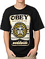 Obey Coin Drop Black T-Shirt