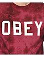 Obey Collegiate Tie Dye T-Shirt