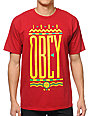 Obey Colours Red T-Shirt