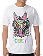 Obey Coyote Ripper White T-Shirt