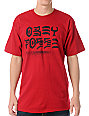 Obey Destroy Red T-Shirt
