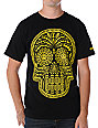 Obey Dia De Los Muertos Black T-Shirt