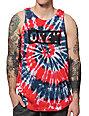 Obey Dive Bar Americana Spiral Tank Top