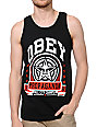 Obey Extra Innings Black Tank Top