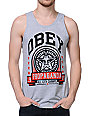 Obey Extra Innings Heather Grey Tank Top