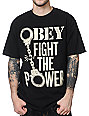 Obey Fight The Power Black T-Shirt