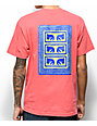 Obey Flashback Coral T-Shirt