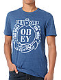 Obey Full Speed Navy Tri-Blend T-Shirt