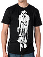 Obey Gas Mask Biker Glow In The Dark Black T-Shirt