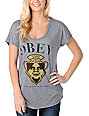 Obey Genuine Article Navy T-Shirt