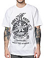 Obey Globe Fist White T-Shirt