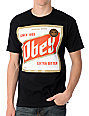Obey High Life Black T-Shirt
