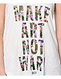 Obey Imagine White Modern Tank Top