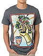 Obey Imperial Glory Mock Twist Heather Black T-Shirt