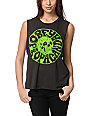 Obey Junkie Charcoal Muscle Tank Top