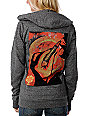 Obey Kiss Me Deadly Charcoal Hoodie