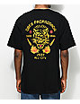 Obey Kiss Me Deadly Tiger Black T-Shirt