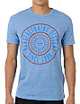 Obey Notary Heather Blue T-Shirt