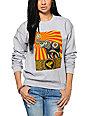 Obey Peace Elephant Crew Neck Sweatshirt