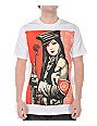 Obey Peace Guard White T-Shirt