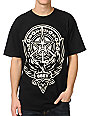 Obey Peace Phoenix Black T-Shirt