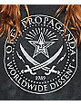 Obey Pirates Tie Dye Crew Neck Sweatshirt