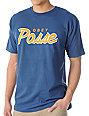 Obey Posse Script Marine Blue T-Shirt