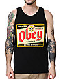 Obey Premium Black Tank Top