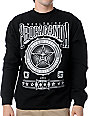 Obey Pro Bowl Black Crew Neck Sweatshirt