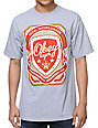 Obey Propaganda Brewing Co Heather Grey T-Shirt