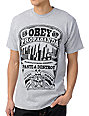 Obey Rooftop Heather Grey T-Shirt