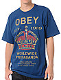 Obey Royal Mandate Blue T-Shirt