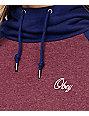 Obey Sammie Script Raisin Hoodie