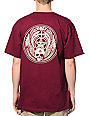 Obey Skull & Wings Oxblood T-Shirt