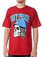 Obey Snapback Skull Red T-Shirt